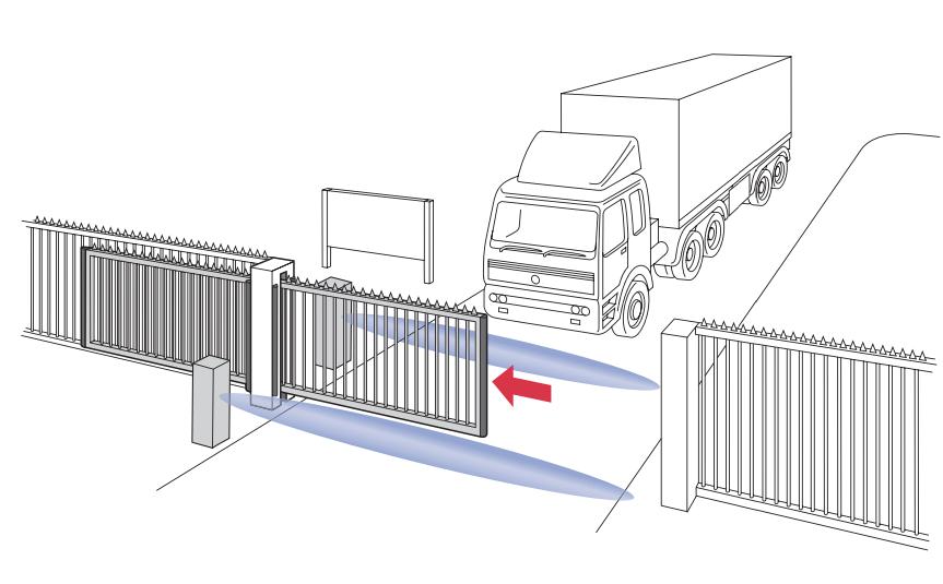 Proaccess - Détecteur de véhicules pour portails coulissants automatiques - BBC Bircher Smart Access