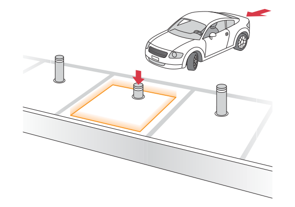 Applicatievoorbeeld - Parkeersystemen - BBC Bircher Smart Access