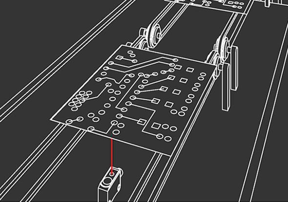 Applicatievoorbeeld FT 10-serie fotocellen - SensoPart