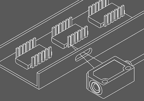 Applicatievoorbeeld FT 25-serie fotocellen - SensoPart