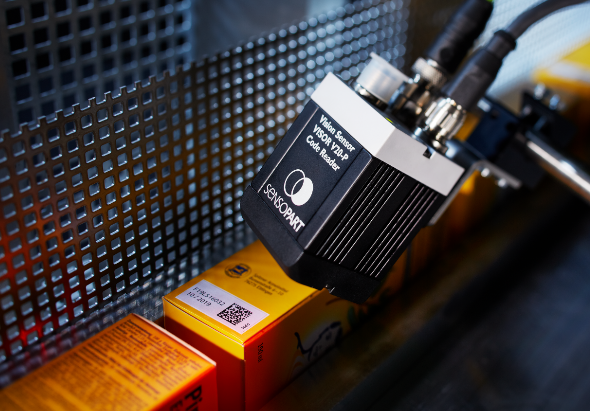 Vision camera Code Reader datamatrix en barcodes - SensoPart