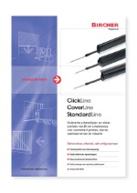 Bircher Reglomat Clickline, Coverline en Standardline (NL)