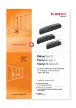 Bircher Reglomat PrimeTec B, PrimeScan B en PrimeMotion B (NL)