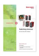 Bircher Reglomat Switching devices (EN)