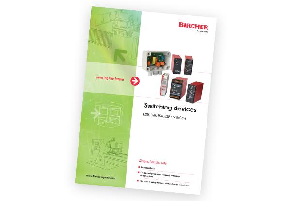 Brochure schakelapparatuur - EsGate - EsMatix - BBC Bircher Smart Access