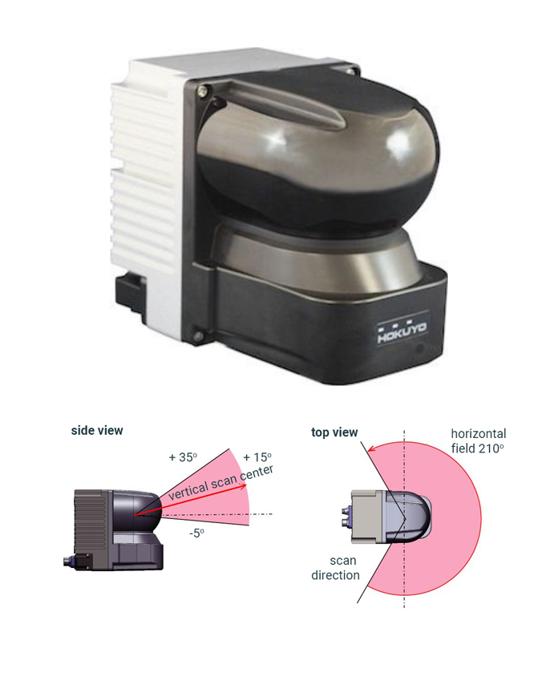 Scanner laser 3D - Capteur 3D-LIDAR - YVT-35LX - Hokuyo Automatic