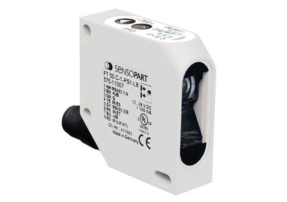 Kleurensensor met 3 schakeluitgangen FT 50-C - SensoPart