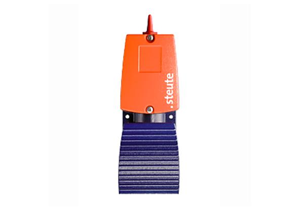 Pédales radio avec protocole sécurisé de steute