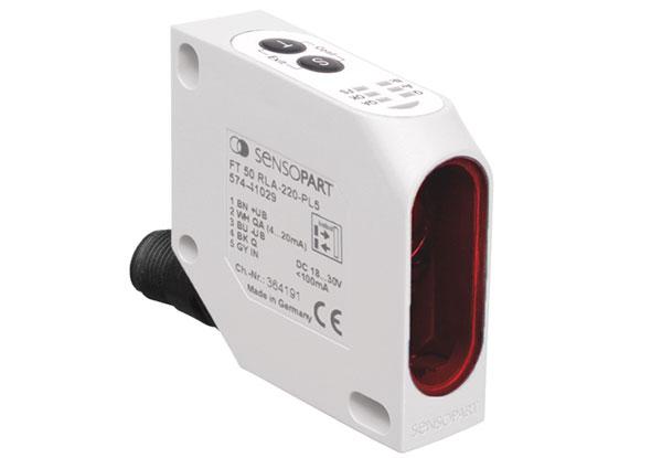 Capteur de distance FT 50-RLA - SensoPart