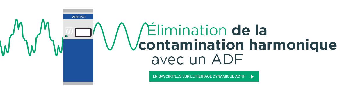 Filtres harmoniques - Actif Dynamique Filtrage  (ADF)