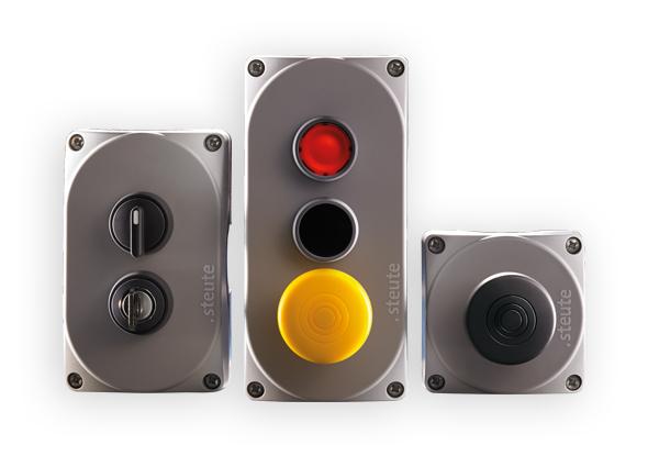 Boutons poussoirs et interrupteurs de commande - steute