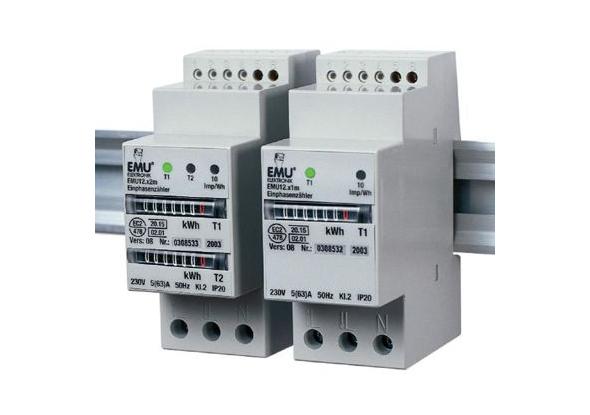 Kilowattuurmeter EMU12 - Mechanisch telwerk - EMU Electronic