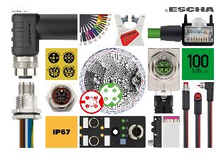 Catalogue des câbles et connecteurs pour capteurs et actionneurs - ESCHA