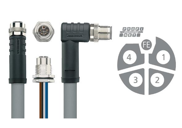 PNO-compatibele M12 Power connectoren - ESCHA