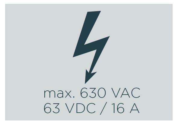 ESCHA M12 Power voltages