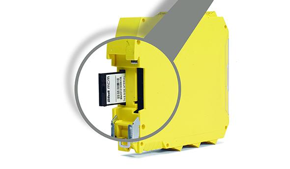 Veiligheids-PLC - MCM-geheugenkaart - Mosaic - ReeR Safety