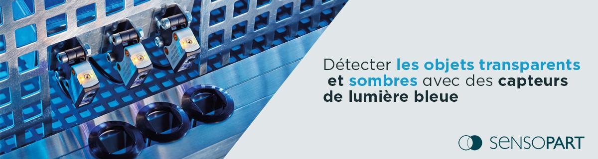 SensoPart Blue Light - Détecteur transparent
