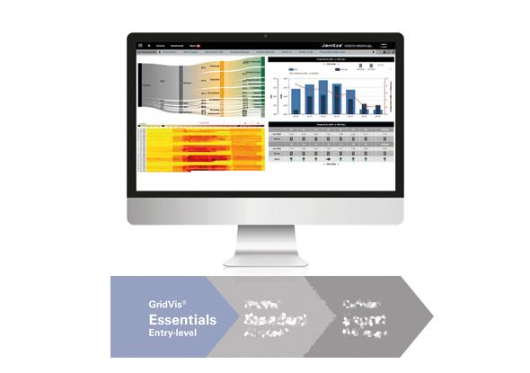 Logiciel de surveillance de l'énergie - GridVis® Essential - Janitza