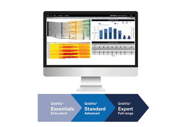 Logiciel de surveillance de l'énergie - GridVis® Expert - Janitza