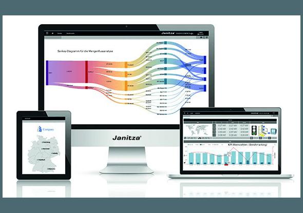 Gridvis software voor energiemeters - Janitza