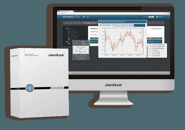Software GridVis | Janitza