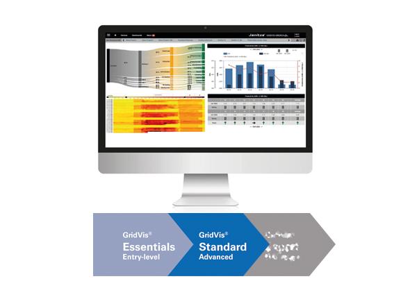 Logiciel de surveillance de l'énergie - GridVis® Standard - Janitza