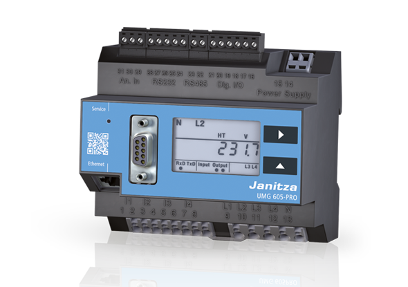 Power quality analyser - UMG 605-PRO - Janitza