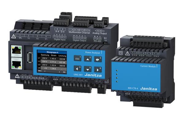 Modulaire all-in-one analyzer - UMG 801 - Janitza