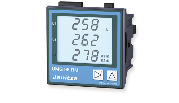 Universele energiemeter UMG 96RM - Janitza