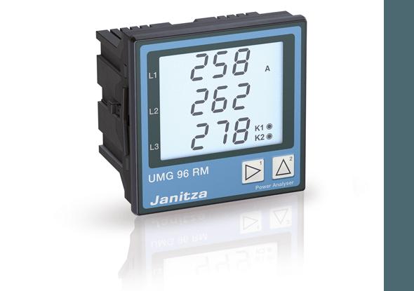 Universele energiemeter met communicatie | UMG96-RM | Janitza