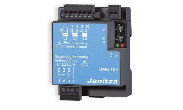 Universele energiemeter UMG 103 - Janitza