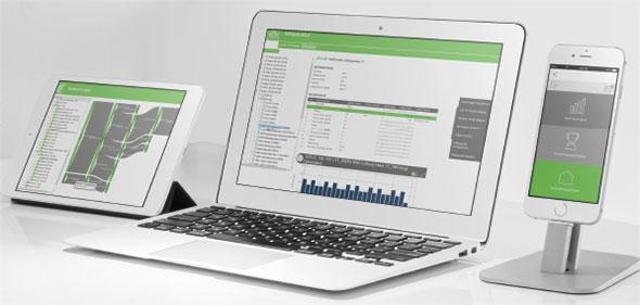 Logiciel de surveillance de l'énergie Joulio Web - EMU Electronics