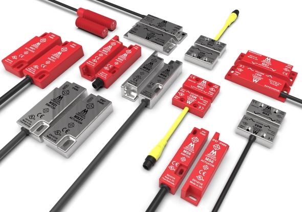 Interrupteurs de sécurité à principe magnétique - Magnasafe - Commandes mécaniques