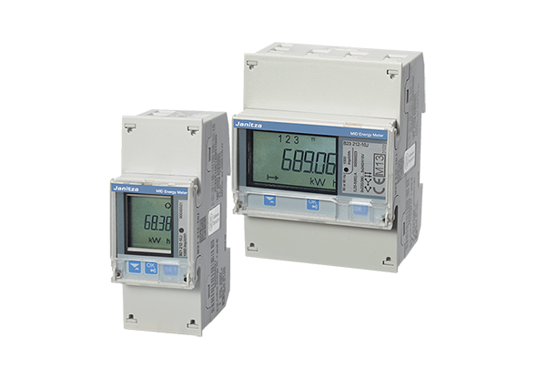MID kWh meter - kilowattuurmeter B21 - B23 - Janitza