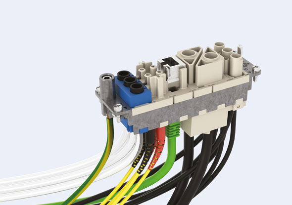 MIXO connectoren binnenwerk - ILME