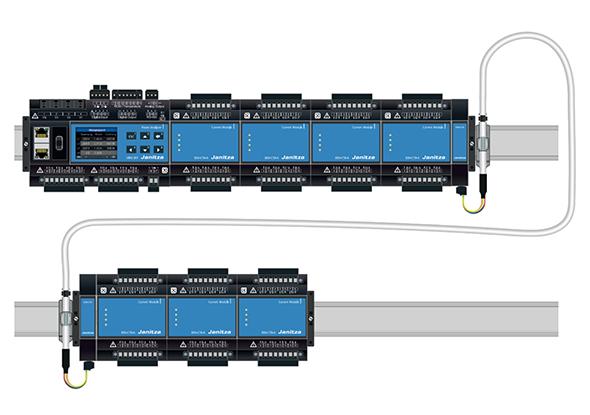 Couplage d'analyseurs modulaires tout-en-un - Janitza UMG 801