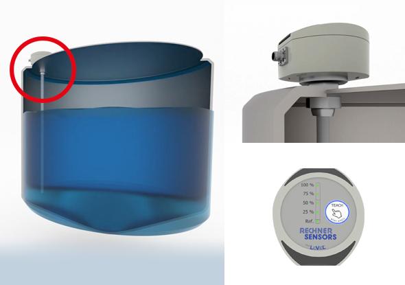 Capteur de niveau pour la mesure analogique du niveau - Rechner Sensors