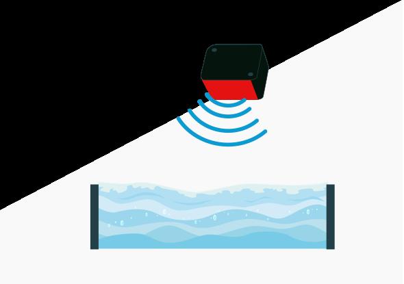 Mesure du niveau des solides et des liquides avec un capteur de niveau à ultrasons
