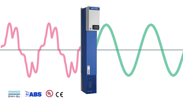 Filtre dynamique actif - P100 - Comsys