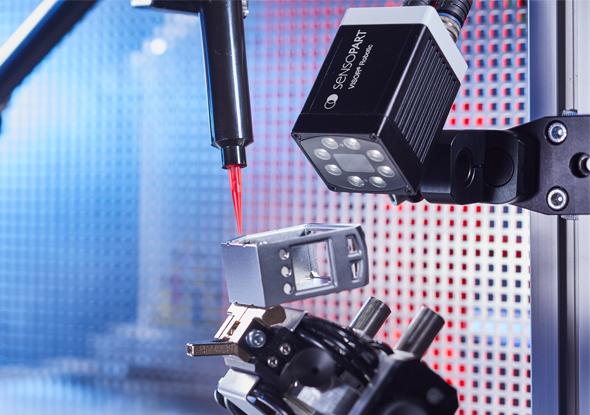 Installation des pièces - VISOR®-Capteur de vision robotique - SensoPart