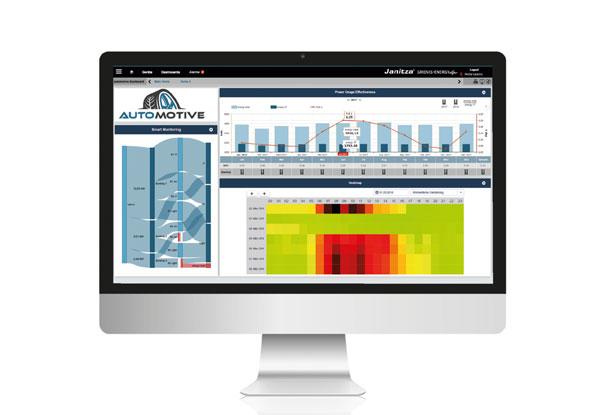 GridVis® Logiciel d'analyse de l'énergie ultime - Janitza