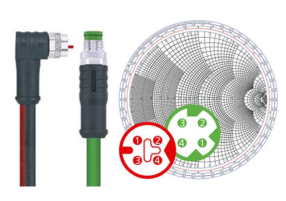 M8x1 connectoren voor PROFINET en EtherCAT - ESCHA
