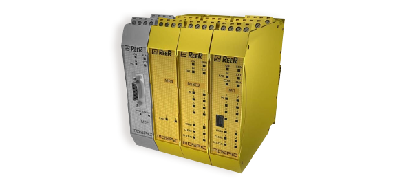 Veiligheids-PLC Mosaic - Safety Controller - ReeR Safety