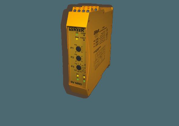 Toerentalbewakingsmodule SV MR0 | ReeR