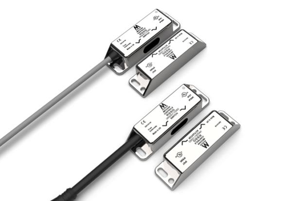 Contactloze RFID veiligheidsschakelaar met RVS 316 behuizing - Mechan Controls