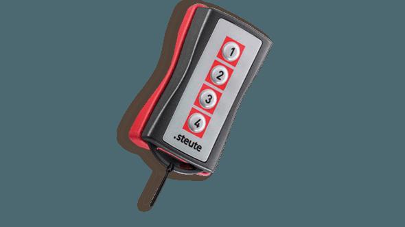Draadloze handbediening RF HB 4CH - steute