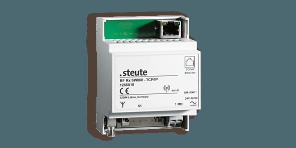 Draadloze ontvanger - TCP/IP - steute