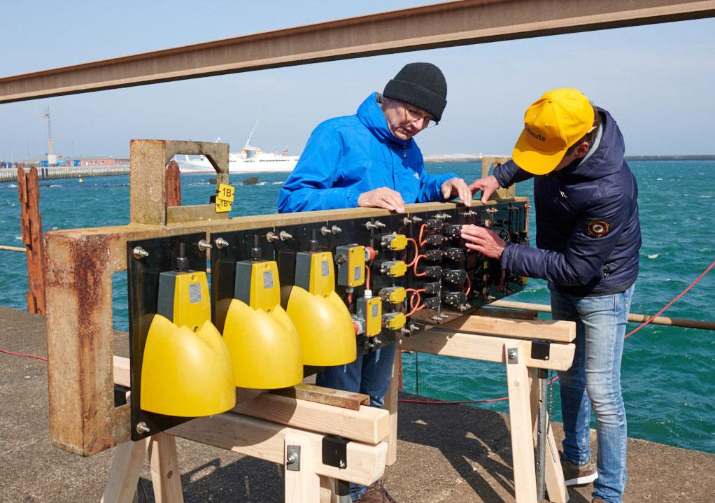Extreme test in Noordzee - steute