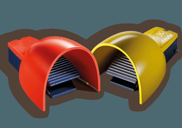 Custom made voetschakelaars van steute