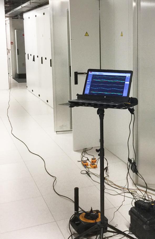 Een tijdelijke meting op locatie - fortop energy control